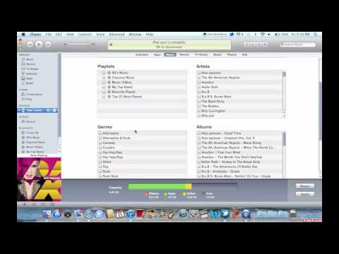iTunes Tutorial #6: Syncing iTunes with your iPod, iPhone, or iPad