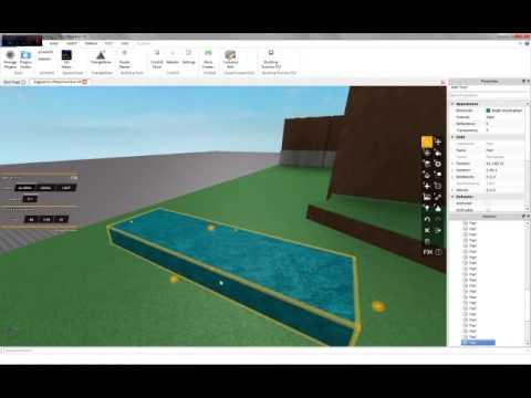 ROBLOX: Terrain C-framing Building Tutorial 2014 (Advanced Terrain) *voice!*