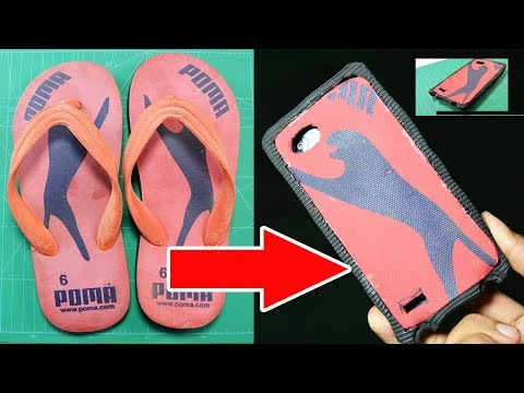 How to Make Mobile Cover From Slipper | Amazing Brilliant Idea | slipper life hacks