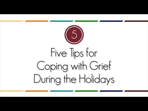 Five Tips for Coping with Grief During the Holidays