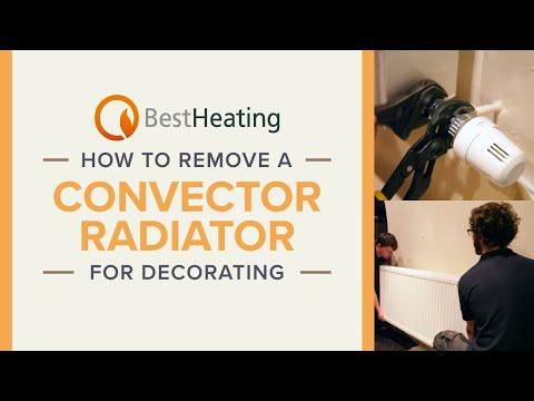 How to Remove a Convector Radiator for Decorating