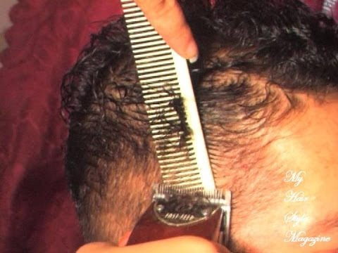 How to fade Cut CURLY HAIR for MEN and BOYS with Clippers Scissors at Home
