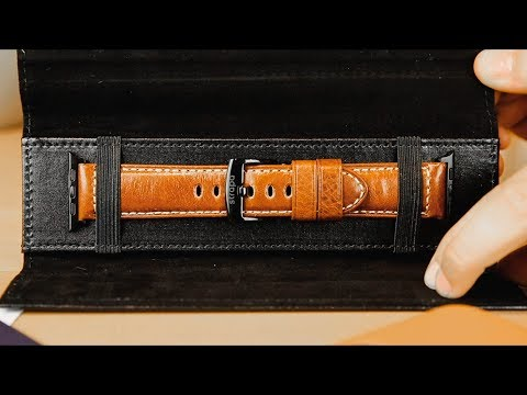 FALL HAUL! Strapa's rugged, Italian leather Primus Apple Watch Band [CoM Watch Store]