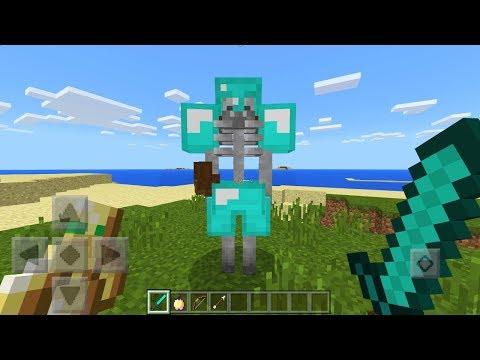 How To Spawn SUPER MUTANT MOBS in Minecraft Pocket Edition