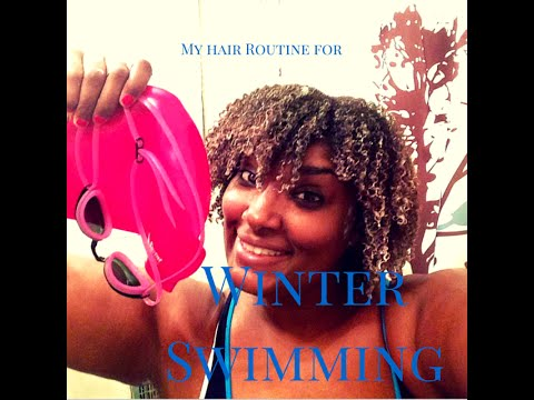 My Winter Swim Routine for Natural Hair