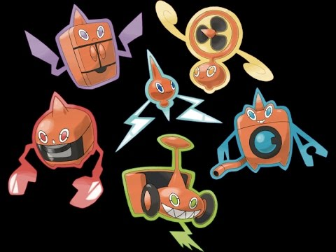 How To Get Rotom's Alternate Forms In Pokemon HeartGold and SoulSilver