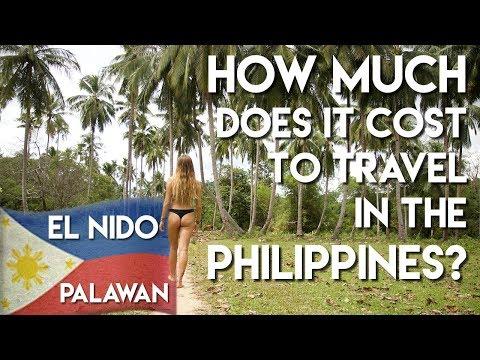 EXPLORING EL NIDO PALAWAN - Cost of travel - Philippines Vlog Ep 5