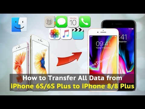 How to Transfer All Data from iPhone 6S/6S Plus to iPhone 8 / 8 Plus