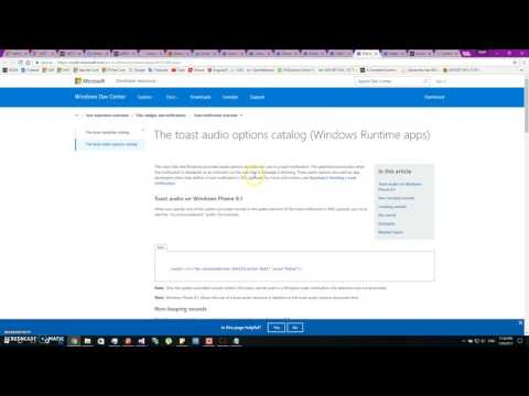 Push Notifications on Windows