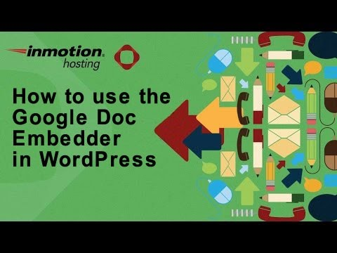 How to use the Google Doc Embedder in WordPress