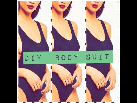 How To Make A Bodysuit | SWIMSUIT| EASY TUTORIAL