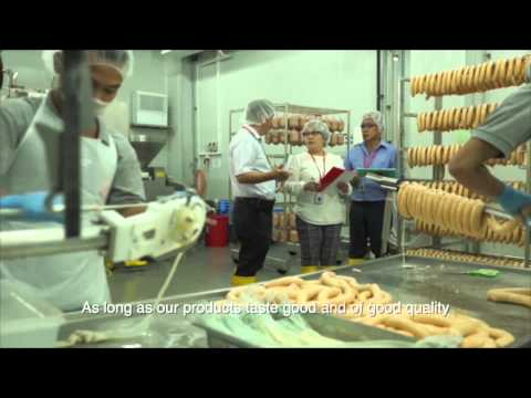 Corporate Video Profile of Golden Bridge Foods Manufacturing in Singapore
