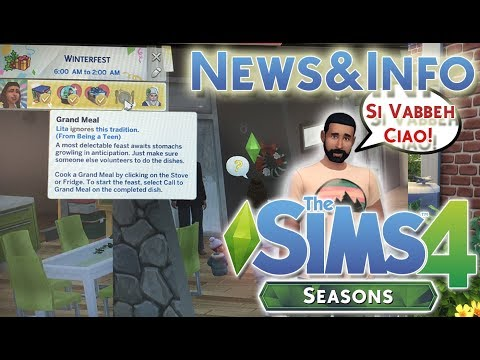 THE SIMS 4 ITA STAGIONI/SEASONS: SIMS SEMPRE PIU' REALI[NEWS&INFO]