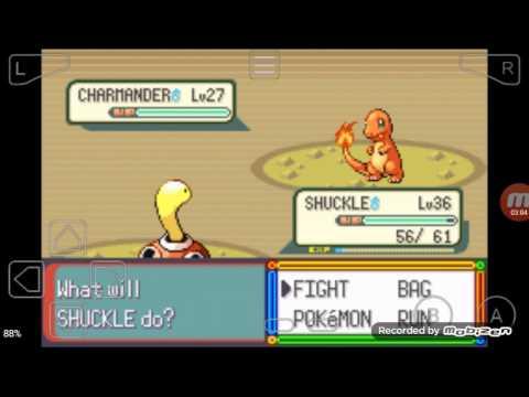 Pokemon Emerald where to catch Charmander