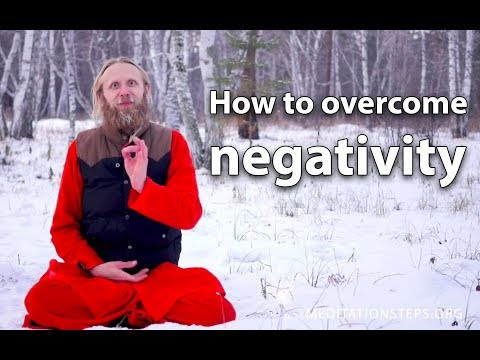 How to overcome negativity?