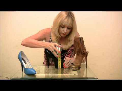 How to Measure the Heel Height of a Shoe