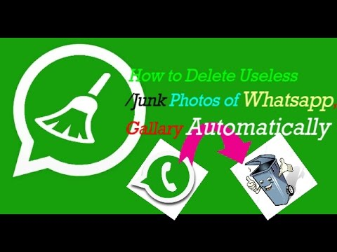 How To Delete  Useless/Junk Photos of Whatsapp Automatically