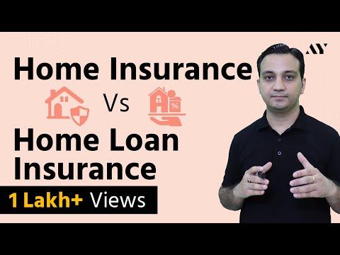 Home (Property) Insurance vs Home Loan Insurance - Hindi (2018)