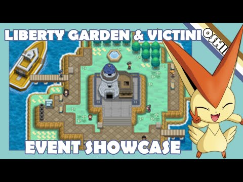 Liberty Garden & Victini (Event Showcase)