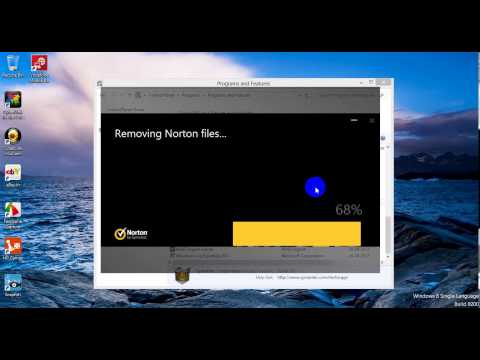 How to remove Norton Security from Windows 8