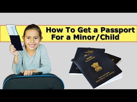 How to apply Indian Child/minor Passport