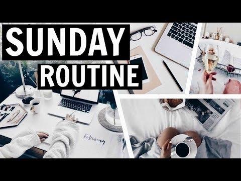 Planning, Reflecting & Goal Tracking - My Sunday Routine / GIRLBOSS / Nika Erculj