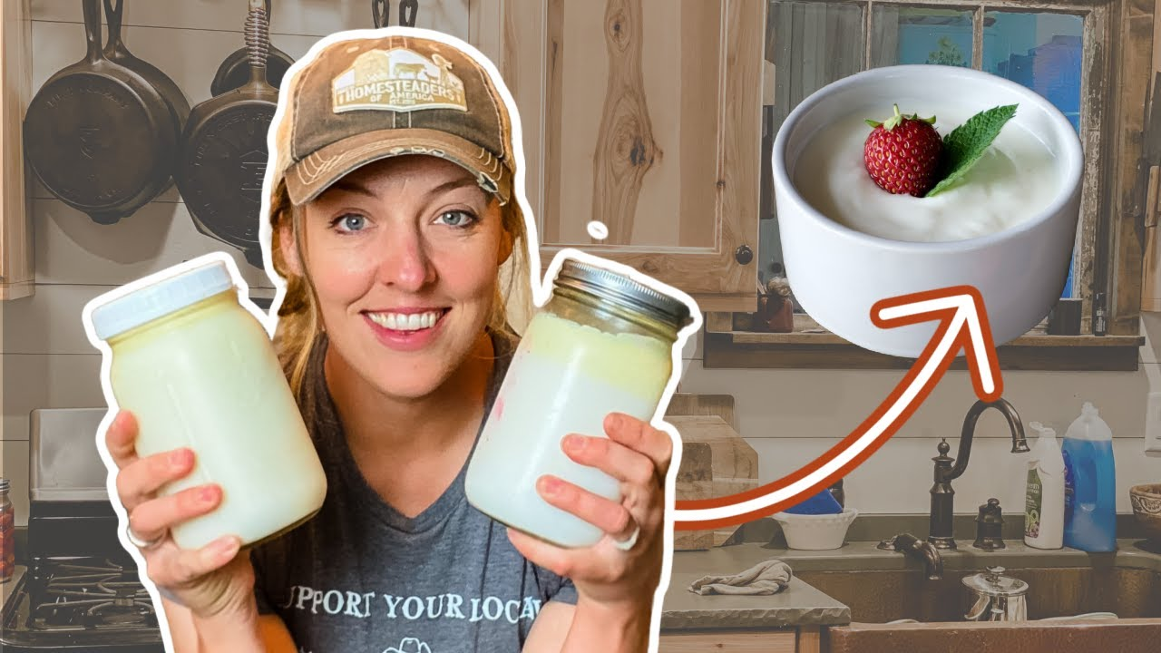 The EASY Way to Make Homemade Yogurt (with fewer dishes!)