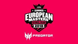 Ninjas in Pyjamas vs MAD Lions E.C. @ European Masters Summer 2018 Finals