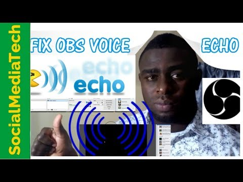 How To Fix OBS Voice Echo And Feedback Noise