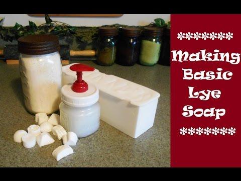 Making Basic Lye Soap