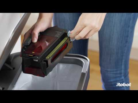Roomba® 800 Series Bin and Filter Care