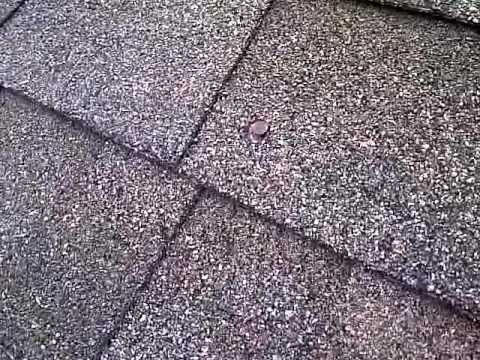 Roof nails popping through shingles