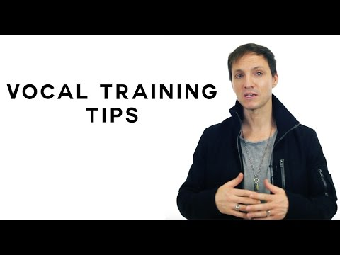 Vocal Training Tips