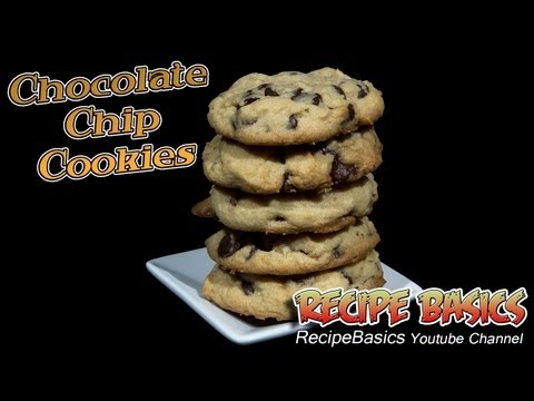 Classic Chocolate Chip Cookies Recipe ! - Super Easy !