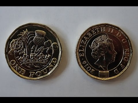 First look at the New British £1.00 Pound Coin + The Hidden Security Feature Micro Wording Revealed!