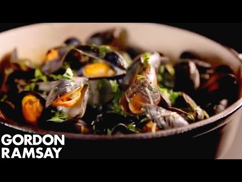 Mussels with Celery and Chilli - Gordon Ramsay