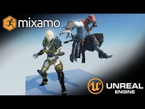 Importing Characters from Mixamo to Unreal Engine 4 (UE4 Tutorial)