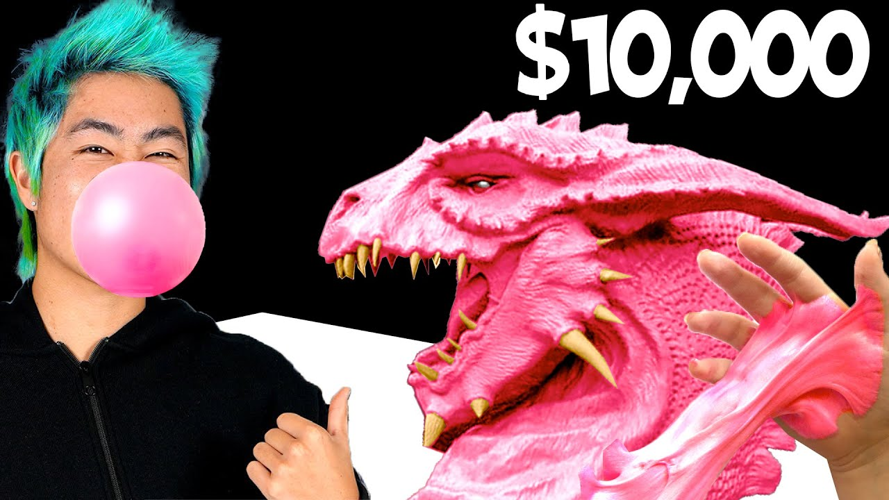 Best Gum Art Wins $10,000 Challenge! | ZHC Crafts
