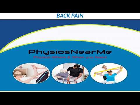 opt for physiotherapy treatment for back pain