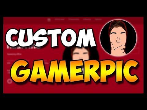 Xbox One Custom Gamerpic! How to Upload a Custom Gamerpicture (WORKING 2017!)