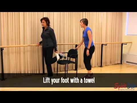 How to stretch your leg (quads)