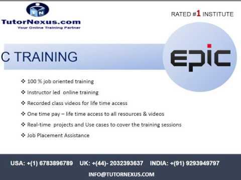 Epic Online Training - tutornexus.com