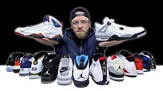 Unboxing Every Air Jordan Sneaker