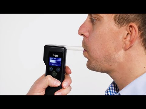 How to Use the Breathalyzer Dräger Alcotest® 5820