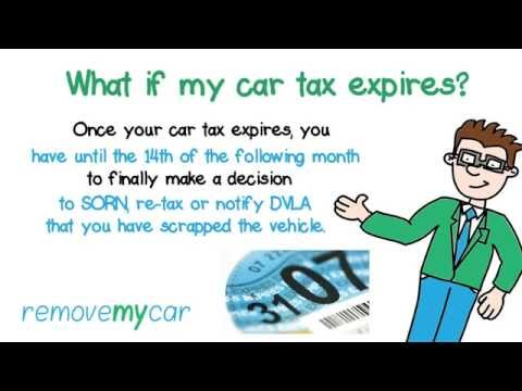 My car tax is due to expire?