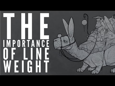 The Importance of Line Weight
