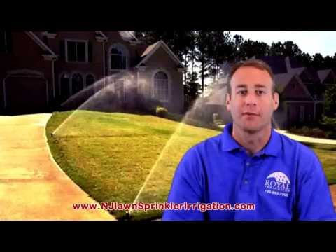 NJ Lawn Sprinkler System Tricks with Well Water to Cover a Garden