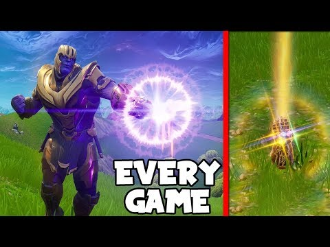 INSANE TRICK On How To Get THANOS Every SINGLE Game in Infinity Gauntlet!! (Fortnite Battle Royale)