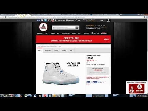 How To Get Limited Jordans Online - SUCCESS on Legend Blue 11's | iWang