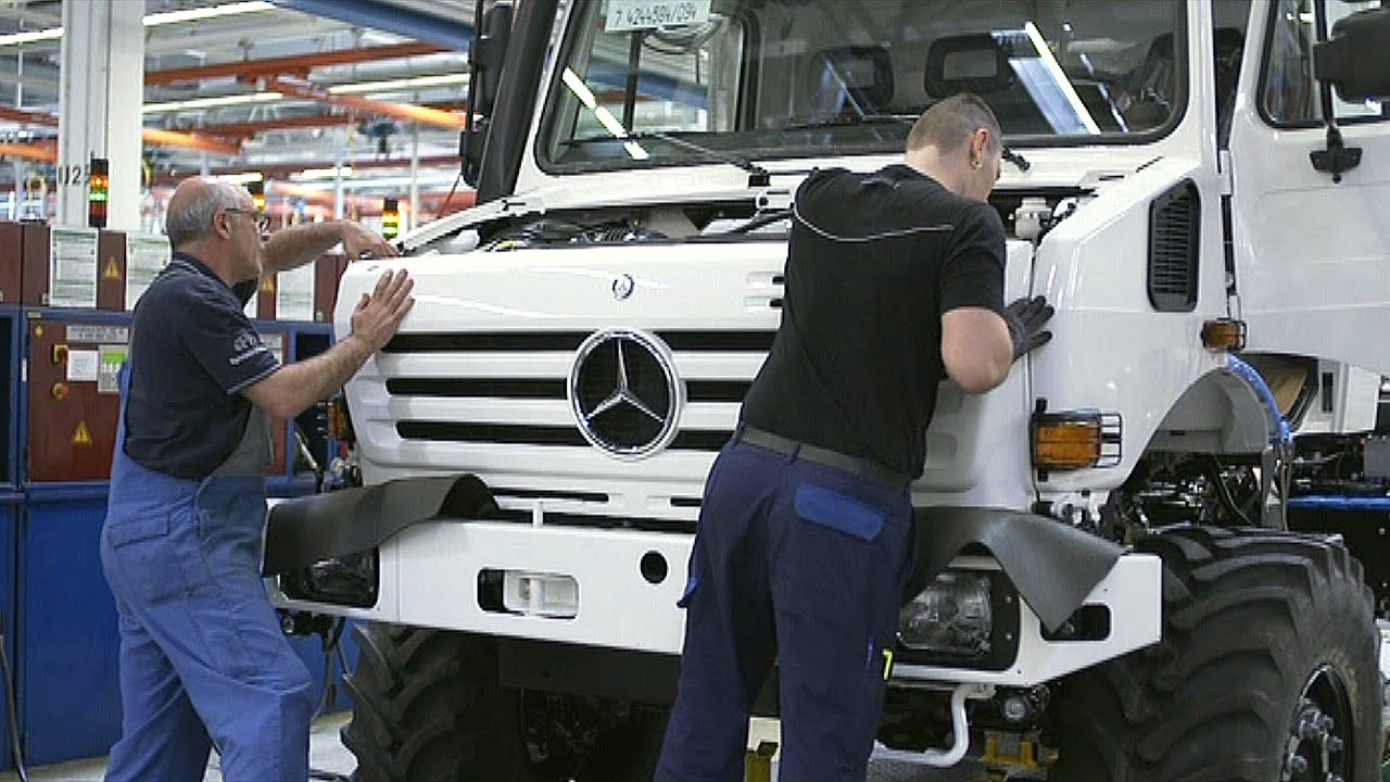 Mercedes-Benz Unimog Production in Germany